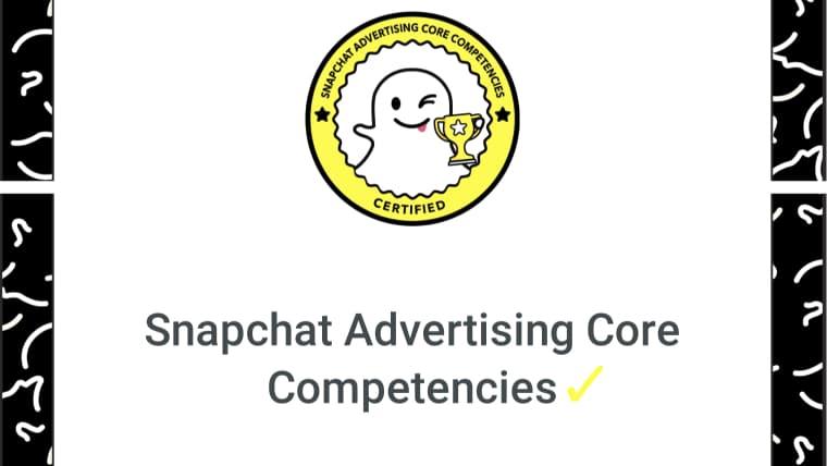 Snapchat markedsføring sertifisert